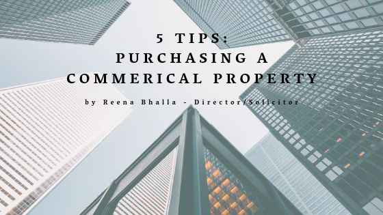 Purchasing commercial businesses