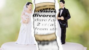 Divorce: Couple ripped apart image.