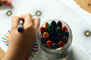 coronavirus colouring & drawing