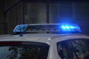 Drink Driving arrest police car
