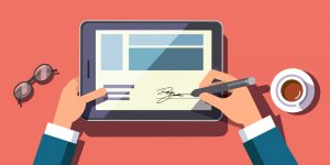 electronic signature for wills