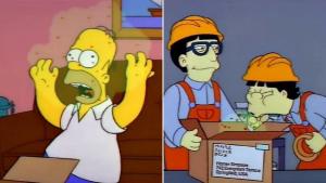 The Simpsons Corona virus